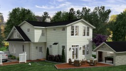216 Woodland Terrace, Alexandria, VA|3D Rendering Virginia|3D Renderings by ALIGN3D