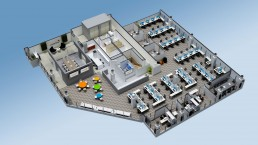 ALIGN3D - YMarketing 3D Floor Plan California