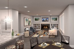 Salishan • 3D Renderings Washington • Architectural Visualization by ALIGN3D