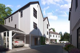ALIGN3D - Manor Forest - 3D Rendering Services Texas - Unit B and D Exterior