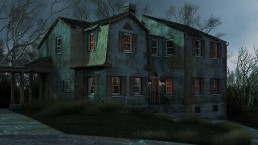 Haunted House Animation - Halloween -Greetings from ALIGN3D