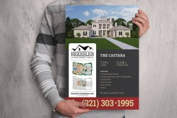 3D Rendering and Signage Design by ALIGN3D - The Castara by Bressler Custom Homes and Design