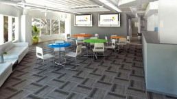 ALIGN3D - YMarketing Lounge - 3D Rendering California