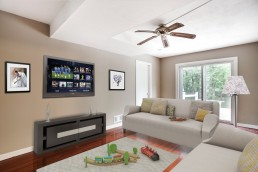 ALIGN3D Virtual Staging - 1105 Cornell Ct Waldorf MD - Family Room - 3D Home Staging Maryland