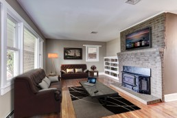 ALIGN3D Virtual Staging: 1699 Fort Valley Road's Living Room - Virtual Staging Virginia