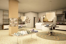 Surf and Sand - Retail 3D Renderings by ALIGN3D