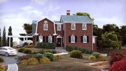 307 W. Walnut • 3D Rendering Virginia • Architectural Visualization by ALIGN3D