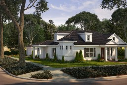ALIGN3D - 3D Rendering Florida - Silliman Cityside Homes - 1345 Yale Street Exterior Rendering